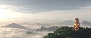 Morning of Buddha by hoangphamvfx