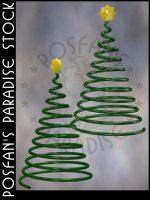 Wire Xmas Tree by poserfan-stock