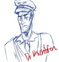 Dr. Richtofen doodle by ChaosBlazed