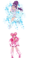 Magical girls 3 by Hapuriainen