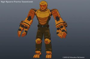 Sgt. Spare Parts Final Version by hauke3000