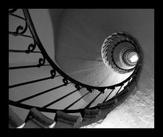 Staircase in Lyon by cg2i