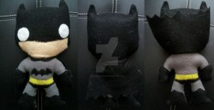 Batman Plush by SinLikeUMeanIt