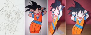 make a Caramelldanse Goku by darlingchan