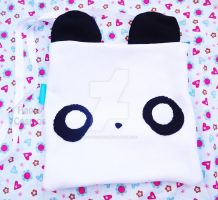 Cute Panda Bag by CosmiCosmos