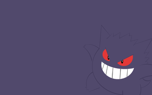 Gengar Wallpaper by Banana-Bear