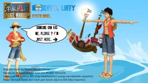 One Piece PW - Luffy Static by FatalitySonic2