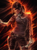 TOMB RIDER SMUDGE by CroPro