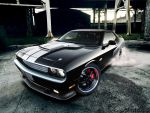 Dodge Challenger HEMI by blackdoggdesign
