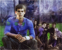 Dylan O'Brien The Maze Runner by by-Oblomskaya