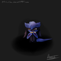 Afraid of the darkness by pokebulba
