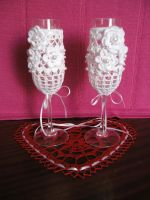 Crochet glasses by eva-crochet