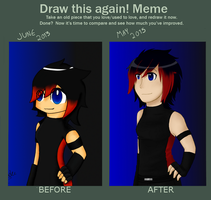 Before And After Meme by Venomari19