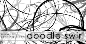 + Image Pack . Doodle Swirls by Raine-Rose