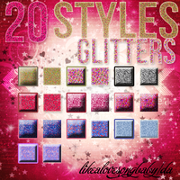 glitter styles by likealovesongbaby
