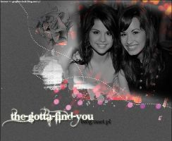 layout 4 with Demi and Selena by favour93