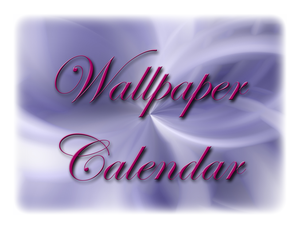 Wallpaper Calendar No. 1 by MelMuff