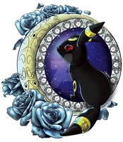 Umbreon In The Moonlight by Sonicgirl582