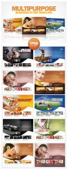 Multipurpose Business Flyer Template PSD by EAMejia