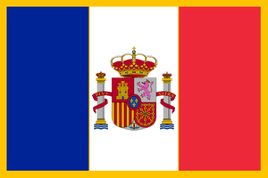 Flag of the Kingdom of Franco-Hispania by azivegu