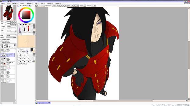 WIP Madara Opinions needed! V 2.0 by cony1414