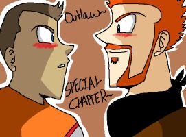 Outlaw Special Chapter Cover by XxInsaneLunaticxX