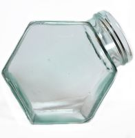 Stock Glass jar 0.3 by E-DinaPhotoArt