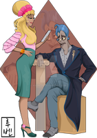 Disney University - Hades and Persephone by Hyung86