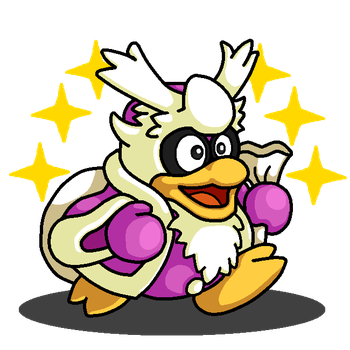 Shiny Delibird + King Dedede (Kirby Series) by shawarmachine
