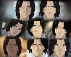 Dr. Tenma Collage by Simmeh