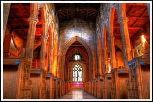 The High Altar, Sheffield Cathedral... by TheBaldingOne