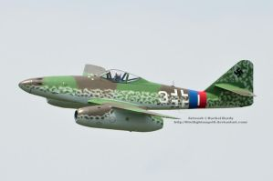 ME-262 Photo Pass by 8TwilightAngel8
