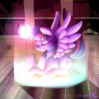 Twilight Sparkle by LeLittleLuna