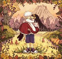 Killua and Alluka by Buong