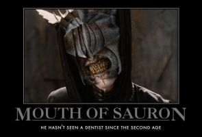 Mouth of Sauron by AwesomenessDK