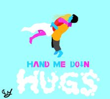 """Hand Me Down Hugs""  Entry by AnotherImpossibility"