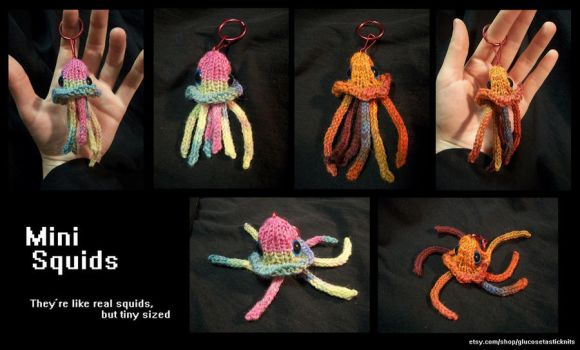 Mini Squids by Glucosetastic