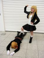 Winry is the boss by IdiotsInWigs