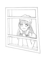 Winter from a Window - Lineart by CloudRider99