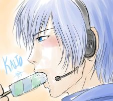 On Hot Days - Vocaloid Kaito by RoyLover