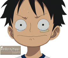 Young Luffy :D by MrReltOtaku