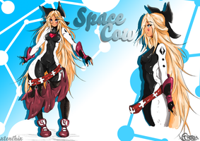 Space Cow by xtenchix and Reel by ReelDeviant