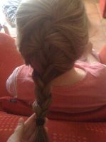 French braid on mum by Axel-is-Sexy-K7