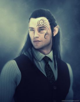 Shadowrun: Elf Male by obidancer