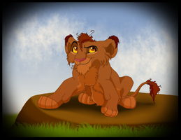 Scruffy Cub by LittlePuffin