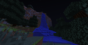 Minecraft Nighttime by OumbreonO