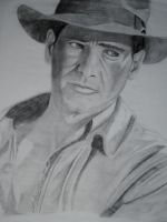 Indiana Jones by Aestera