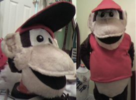 Diddy Kong Wip 2 by MonkeyHeartless