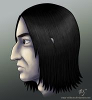 Severus Snape by crazy-rodents