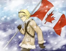 APH-True North Strong and Free by Brainiac6Techgirl